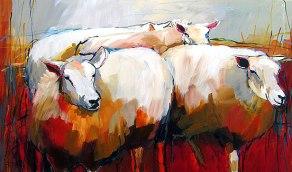 expositie-elfring-paulus-04 schapen schilderen